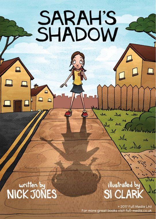 Sarah's Shadow - Nick Jones - poster