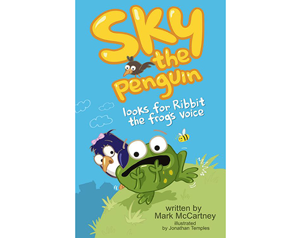 Sky the Penguin Looks for Ribbit the Frog's Voice – Mark McCartney (book review)