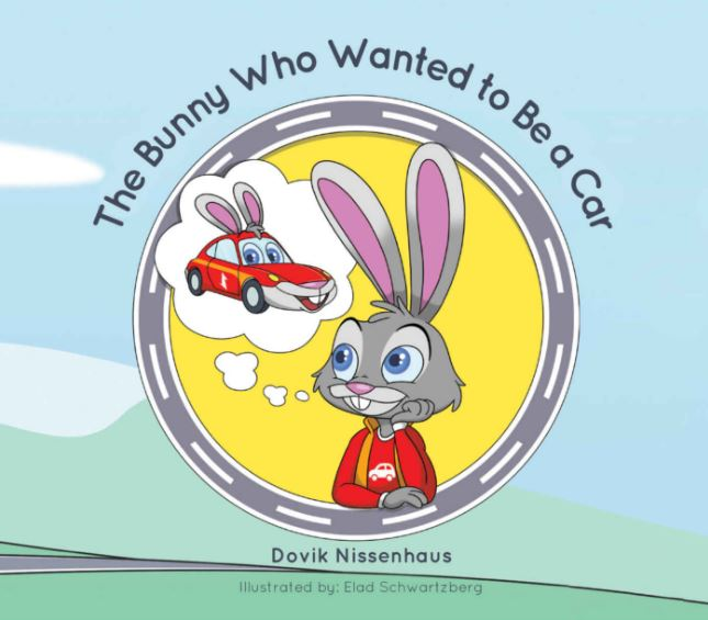 The Bunny Who Wanted To Be A Car – Dovik Nissenhaus (Author), Elad Schwartzberg (Illustrator)