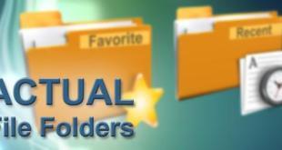 Actual File Folders