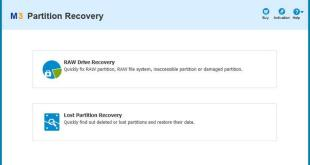 M3 Partition Recovery