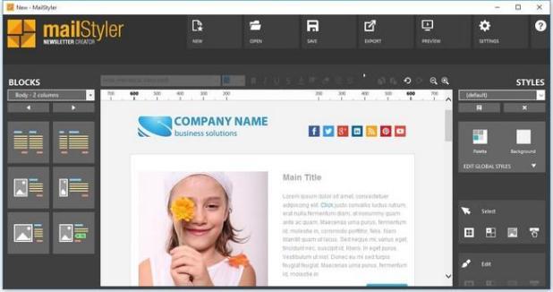 MailStyler Newsletter Creator Pro