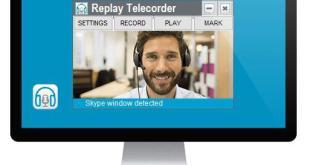 Replay Telecorder for Skype