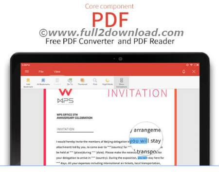WPS office PDF premium
