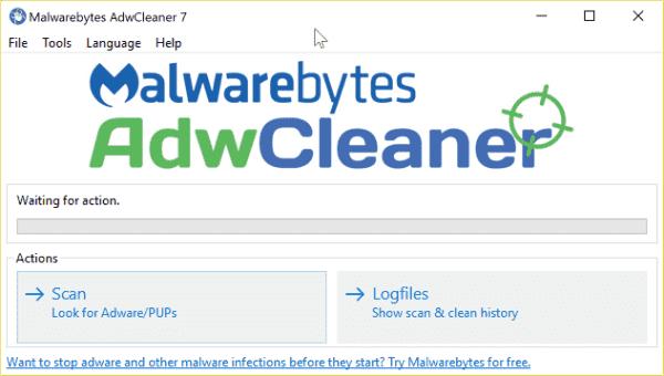 Download AdwCleaner v7.0.2.1