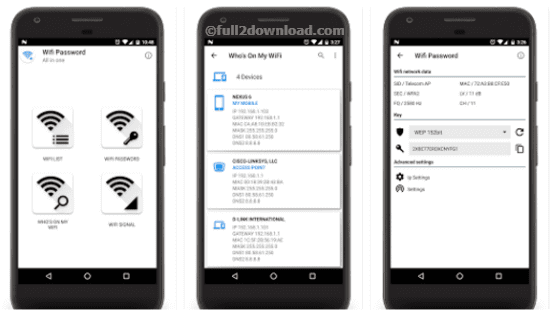 Download WiFi Password All In One Full apk
