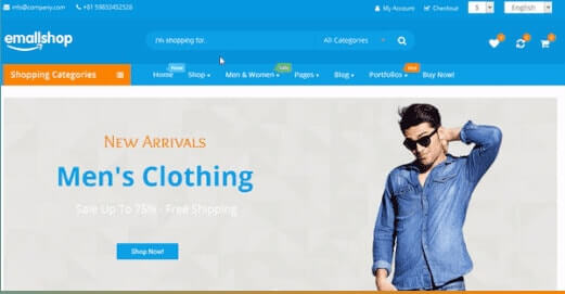EmallShop Responsive Multipurpose WooCommerce