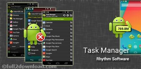 Task Manager Pro (Task Killer) 2.3.4 [Full Paid version] Download