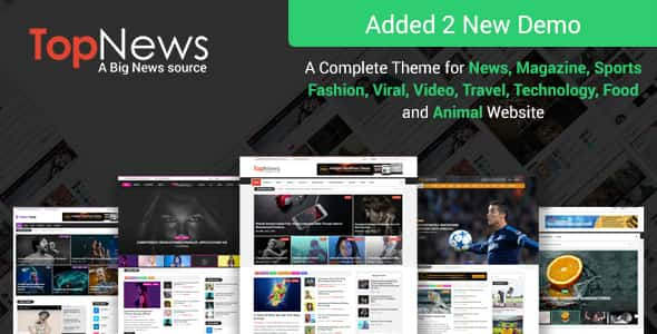 TopNews v3.0.1 – News Magazine Newspaper Blog Viral & Buzz