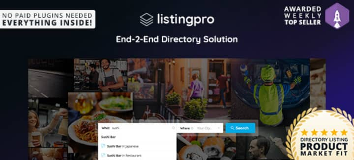 Download ListingPro v1.1.10 – Directory WordPress Theme [Nulled]