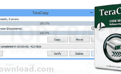 Download TeraCopy Pro v3.26 + Serial Key – Win Copy Speed Increaser
