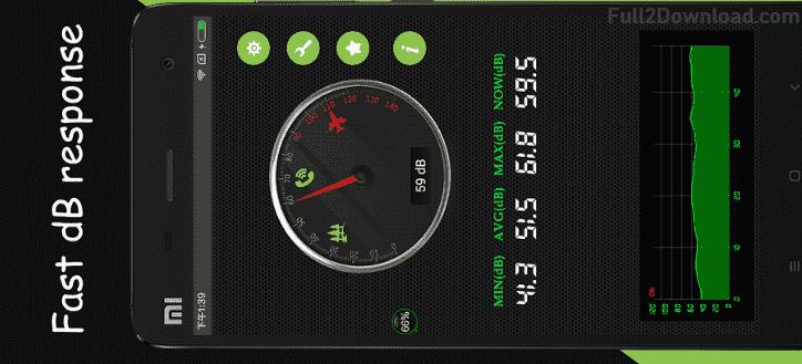 Sound Meter decibel meter Pro 1 1 - Android Sound Measuring App