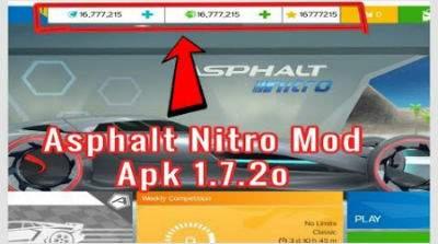 Asphalt Nitro 1.7.2o MOD