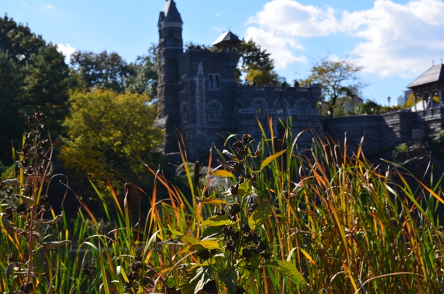 Autumn at Belvedere Castle in Central Park