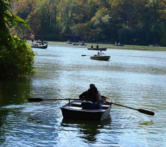 Boating in Central Park