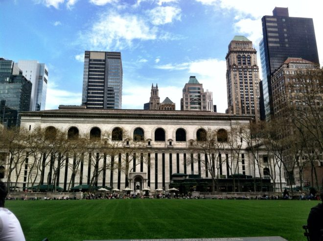 Bryant Park in Manhattan