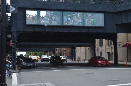 Cars under the High Line