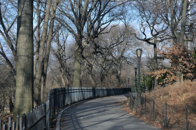 Northward Path in Riverside Park