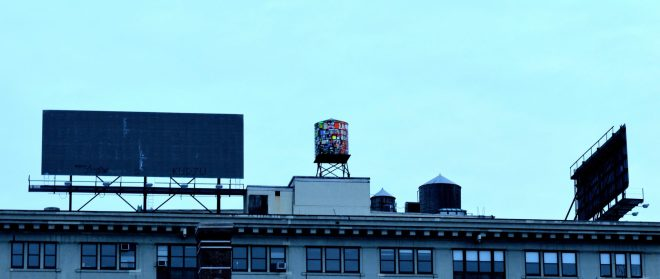 Water Tower in DUMBO