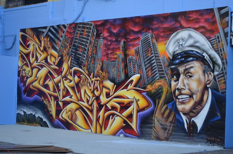 Fire Marshall Bill at 5 Pointz