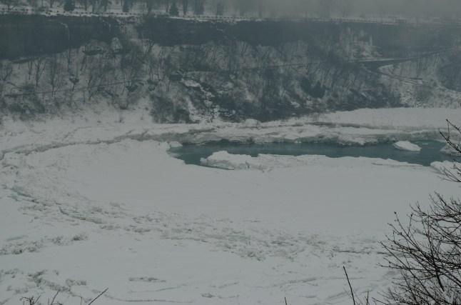 Niagara Falls Ice Flows Winter 2014