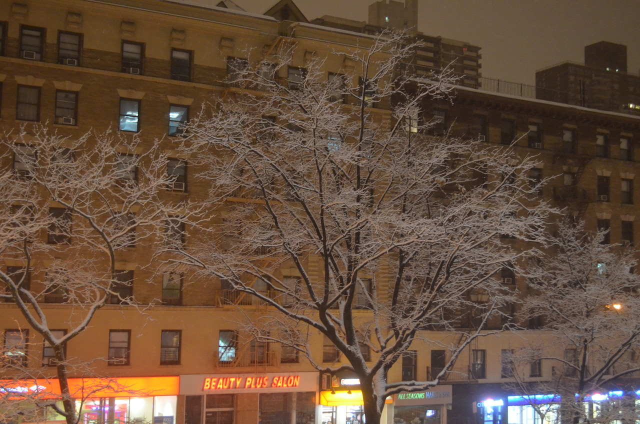 Snow Covered Broadway