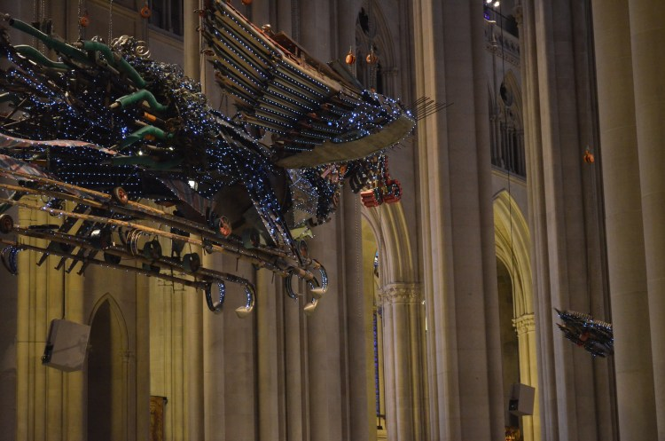 The Phoenix by Xu Bing at St. John