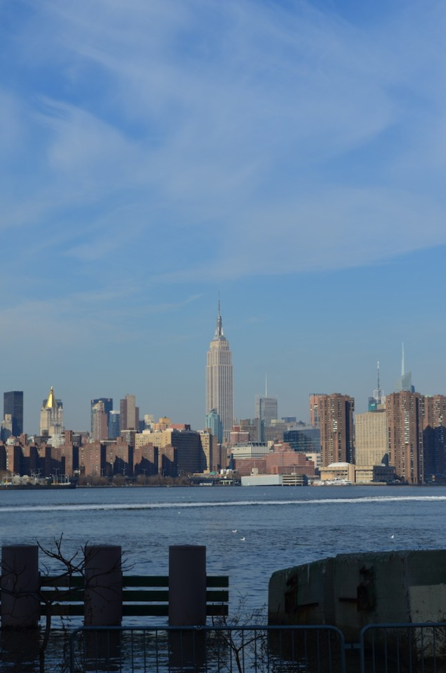 Empire State Building Across the East River