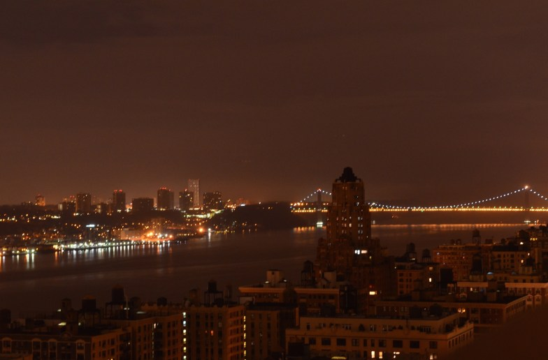 Hudson River at Night