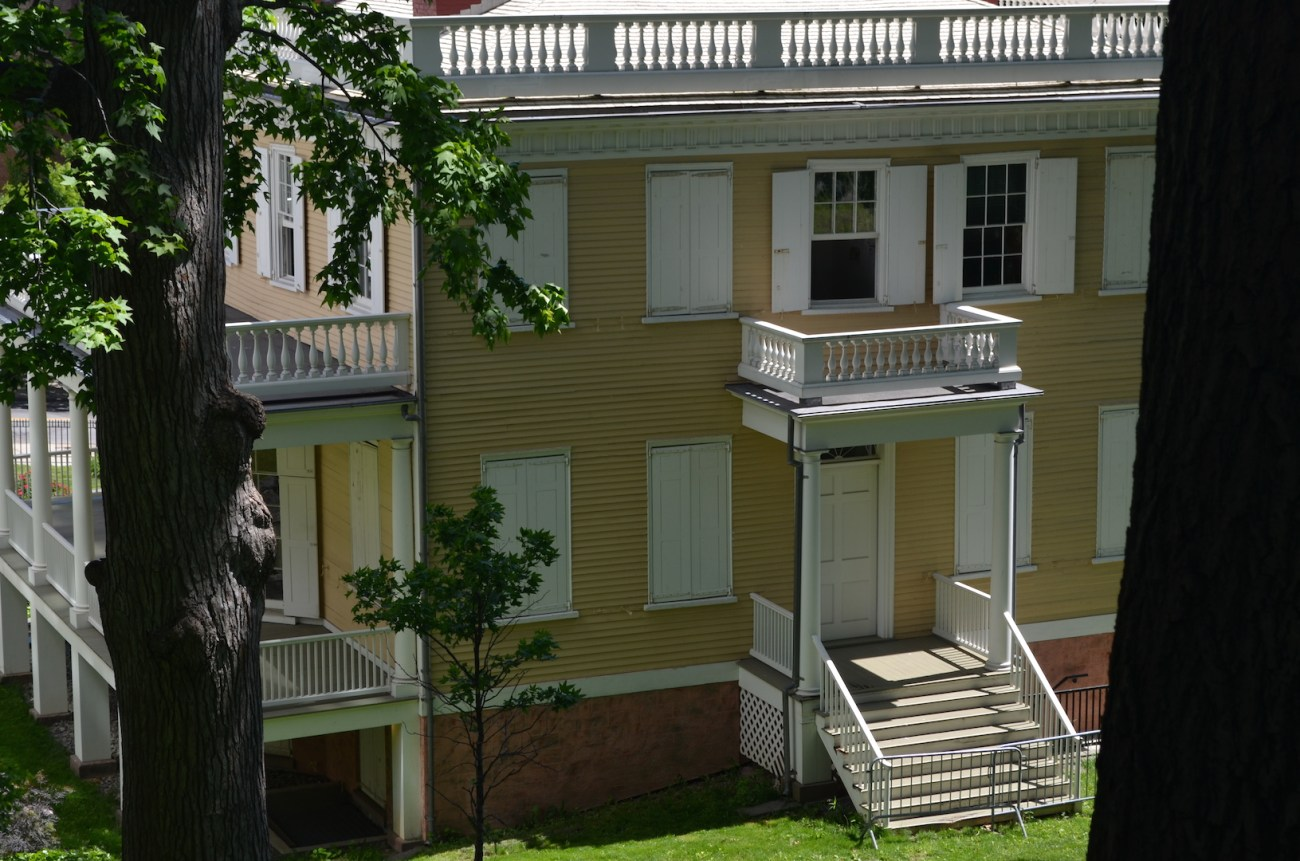 View Of Hamilton Grange From CCNY