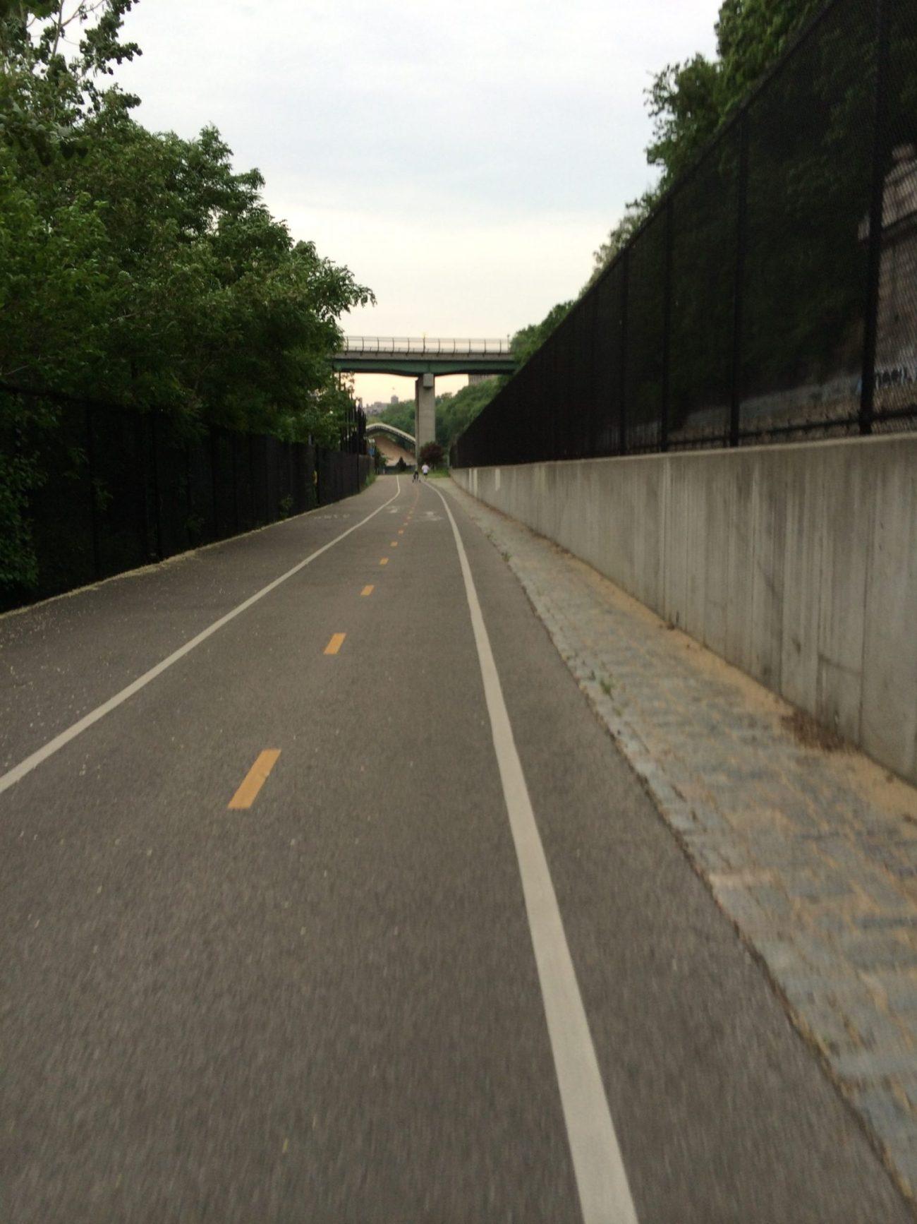 Bike Path Along The Hudson River
