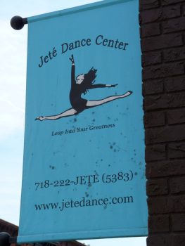 Jete Dance Center Sign In Gowanus Brooklyn