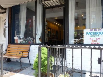 Outside Le Petit Chandelier Hair Salon In Gowanus Brooklyn