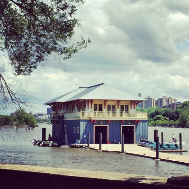 Peter Jay Sharp Boat House In The Harlem River