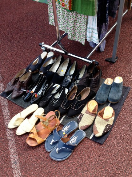 General View Shoes At The Brooklyn Flea