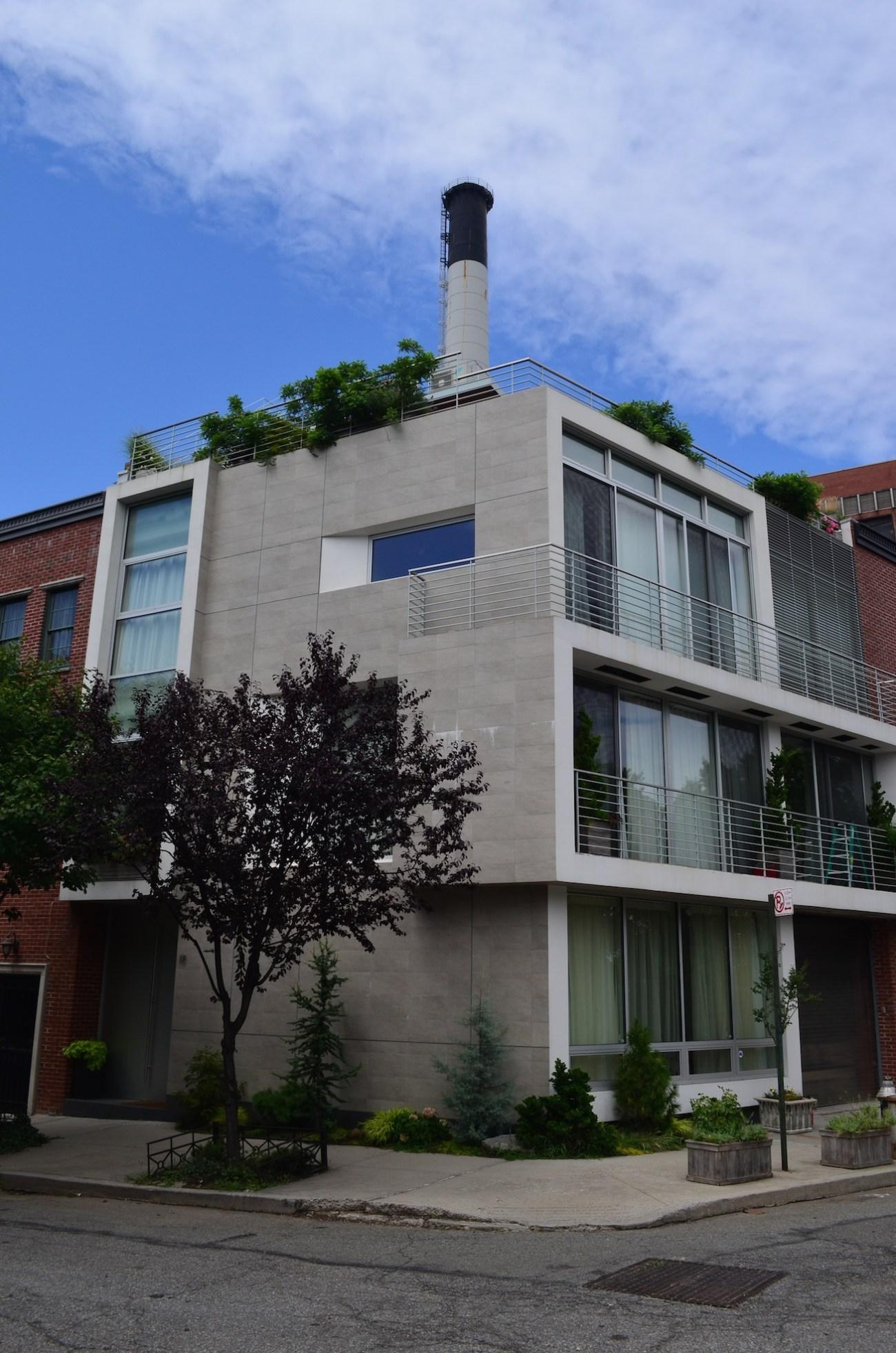 Modern Townhome In Vinegar Hill Brooklyn