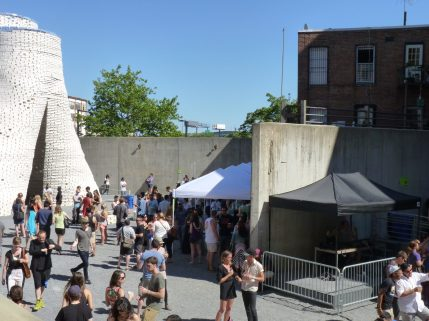 outdoors at MoMA PS1