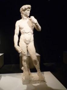 The David by Nathan Sawaya