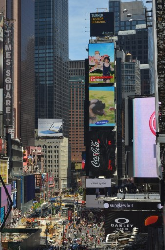 Times Square Summer 2014