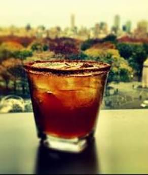 Cinnamon Cider Margarita