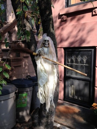 Halloween Bride in Brooklyn