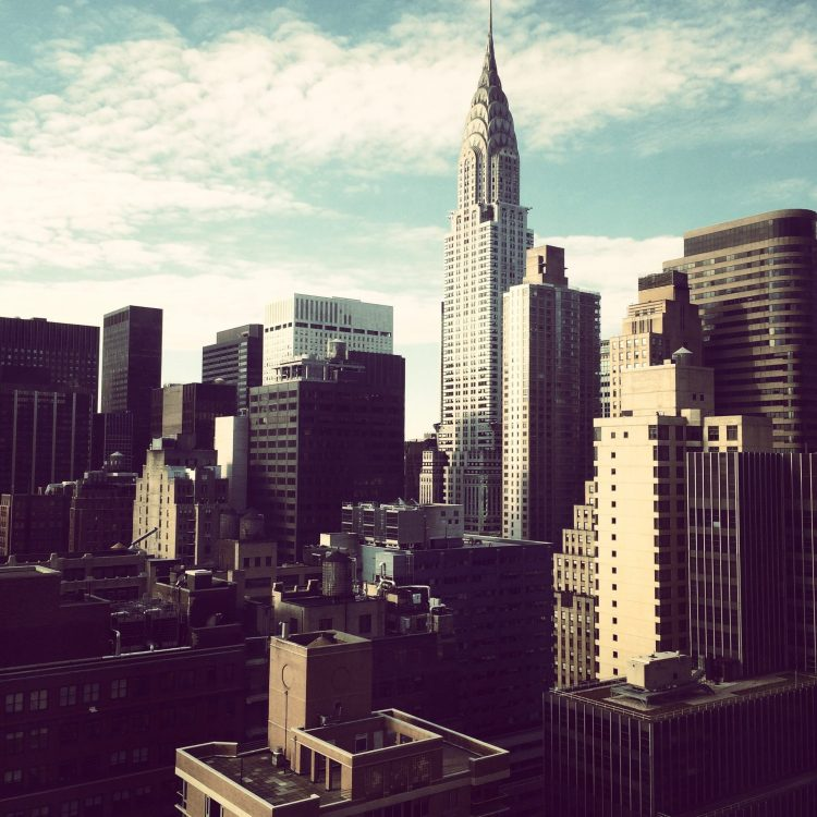 Chrysler Building in Midtown Manhattan
