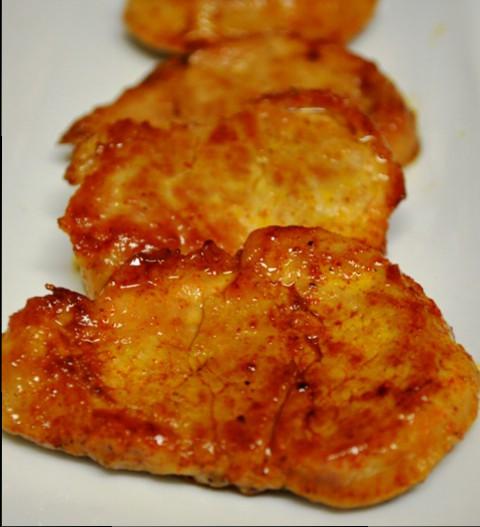 Maple Marinated Pork Tenderloin with Sweet Spanish Paprika