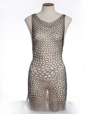 Exoskeleton Ellipse Gown by Mehla Atelier