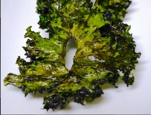 Kale with Truffle Oil and Sea Salt