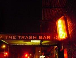 The Trash Bar in Brooklyn NYC