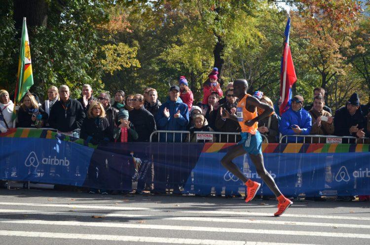 New York City Marathon Elite Runner