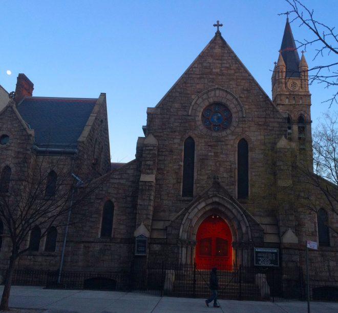 St Andrew's Episcopal Church in East Harlem