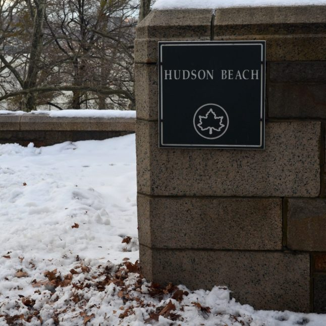 Hudson Beach in the Winter