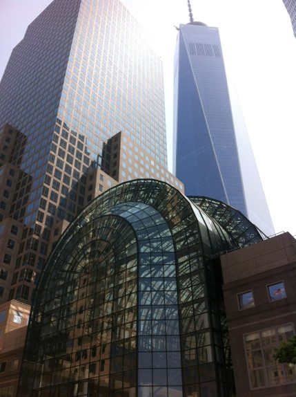 World Trade Center in Downtown Manhattan